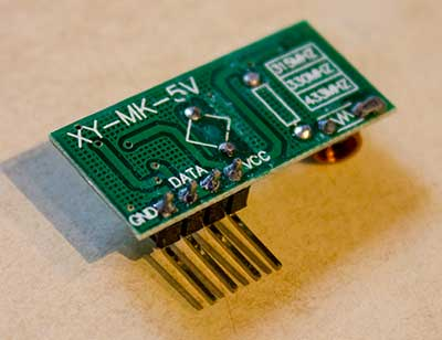 433MHz receiver 5 Volt to 3 3 Volt - Raspberry Pi Forums